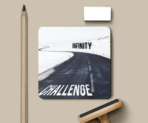 Coasters, Challenge Infinity Coasters | Artist : Rahul Bagdai, - PosterGully