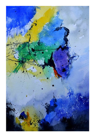 Wall Art, abstract watercolor 512182 Wall Art | Artist : pol ledent, - PosterGully