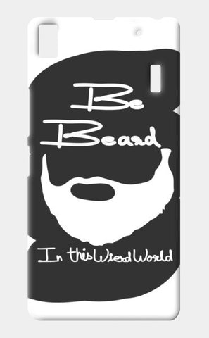 be beard white Lenovo A7000 Cases | Artist : Keshava Shukla