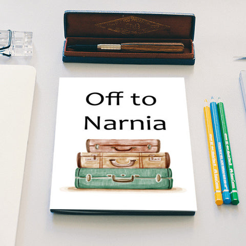 Off to Narnia Notebook | Artist : The Stardust Story