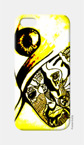 iPhone 5 Cases, Artist and the third eye iPhone 5 Case | Vikrant Khirwar, - PosterGully