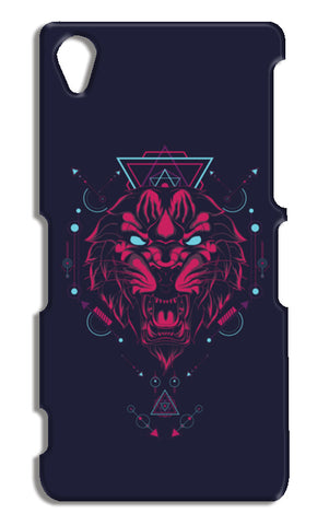 The Tiger Sony Xperia Z2 Cases | Artist : Inderpreet Singh