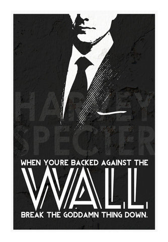 Wall Art, SUITS Harvey Specter Wall Quote Wall Art | Artist : Rashi Srivastava, - PosterGully