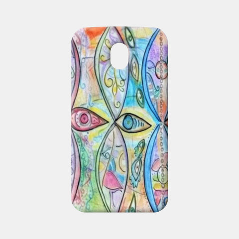 Moto G3 Cases, third eye Moto G3 Cases | Artist : Himani Chhabra, - PosterGully