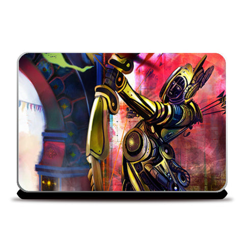 Steam Punk Art Laptop Skins | Artist : Rajat Pandit