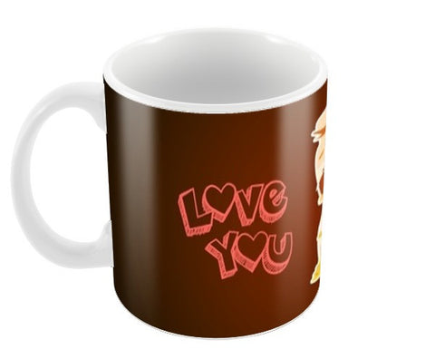 Love You Coffee Mugs | Artist : Anushree Jaiswal