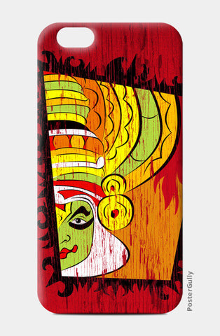 Folk Art | Kathakali iPhone 6/6S Cases | Artist : Ramkumar Kolappan