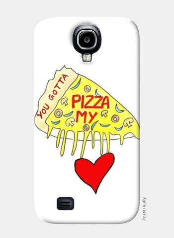 Pizza Love Samsung S4 Cases | Artist : Ajooni Singh