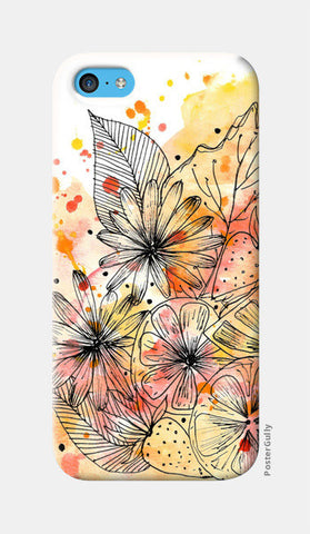 Fruit Punch iPhone 5c Cases | Artist : Swathi Kirthyvasan