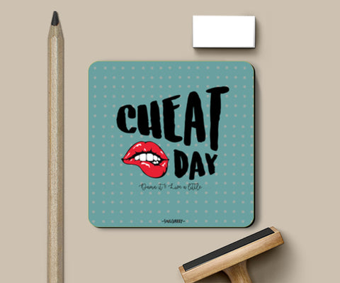 PosterGully Coasters, Cheat Day Coaster Coasters | Artist : Soulcurrry, - PosterGully