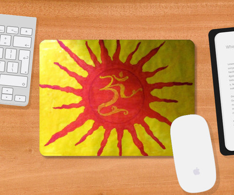 Mousepad, Om Mousepad | Artist: Abhijit Bhosale, - PosterGully