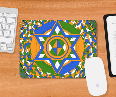 All the colors will bleed into one Mousepad | Artist : Yashovardhan Bhatt