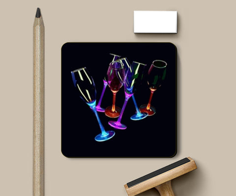 Coasters, 3D Glasses Coasters | Artist : CK GANDHI, - PosterGully