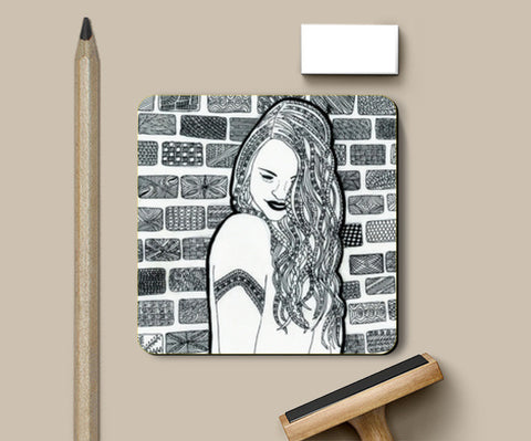 Coasters, Happy Coasters | Artist : Navya Rao, - PosterGully