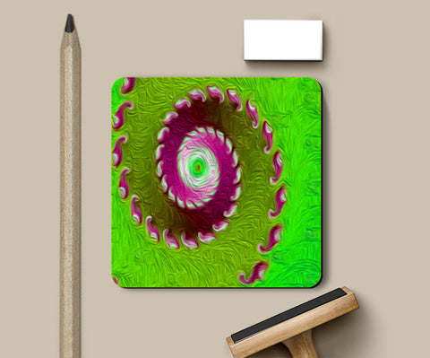 Coasters, Fractal painting Coasters | Artist : CK GANDHI, - PosterGully
