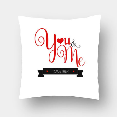 Cushion Covers, You & Me  Cushion Covers | Artist : Swapnil Deshpandey, - PosterGully