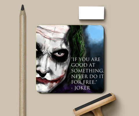 Joker's Advice Coasters | Artist : Draw On Demand
