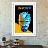 Premium Italian Wooden Frames, Jab We Meth - Breaking Bad Premium Italian Wooden Frames | Artist : Jugaad Posters, - PosterGully - 6