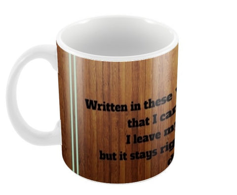 1D Quote Coffee Mugs | Artist : Pallavi Rawal