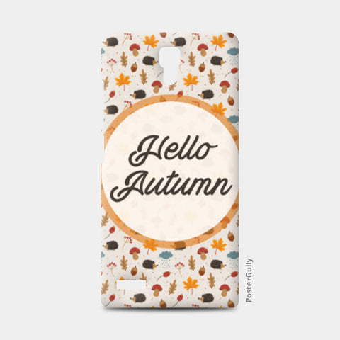 hello autumn Redmi Note Cases | Artist : DISHA BHANOT