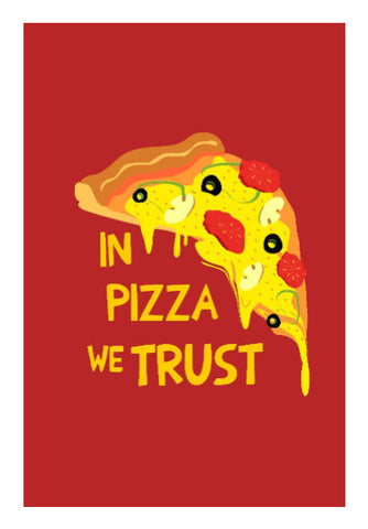 Wall Art, Pizza poster Wall Art | Artist: Devina Jain, - PosterGully