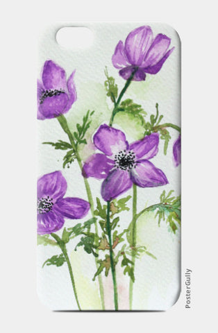 iPhone 6 / 6s, Violet Flowers iPhone 6 / 6s Case I Artist: Seema Hooda, - PosterGully