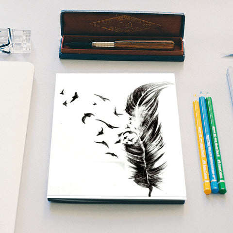 Feathers to Freedom Notebook | Artist : thedreamerkid_