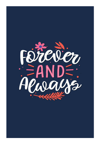 Forever And Always  Wall Art | Artist : Creative DJ