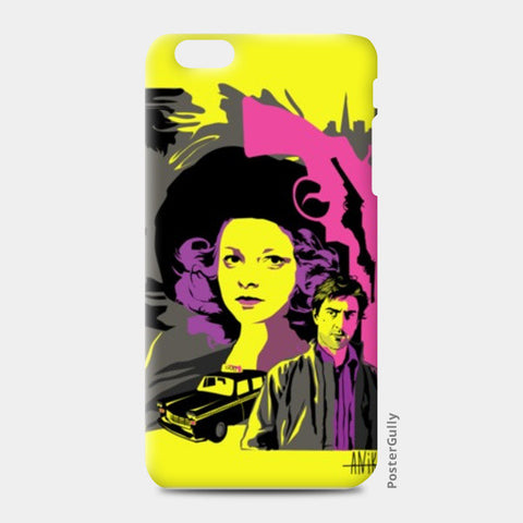 iPhone 6 Plus / 6s Plus Cases, Taxi Driver yellow pink gray iPhone 6 Plus / 6s Plus case | Aniket Trivedi, - PosterGully