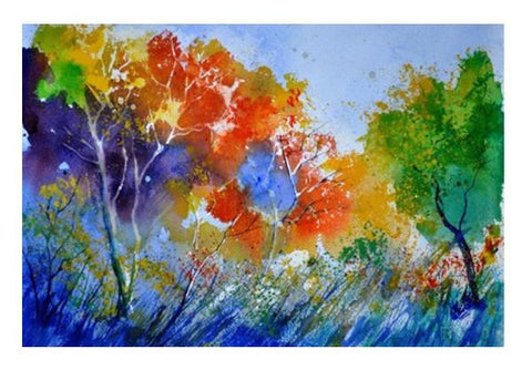 PosterGully Specials, Colourful season Wall Art | Artist : pol ledent, - PosterGully