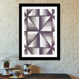 Shading | Abstract Premium Italian Wooden Frames | Artist : Miraculous