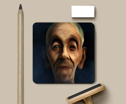 Coasters, old man Coasters | Artist : Jayant Rana, - PosterGully