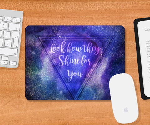 Starry Night | Coldplay Mousepad | Artist : Ved Uttam