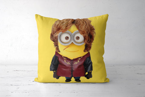 Minion Lannister Cushion Cover | Artist: Tridib Das