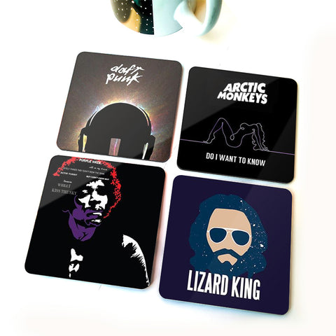 Rock On | Set of Four Coasters