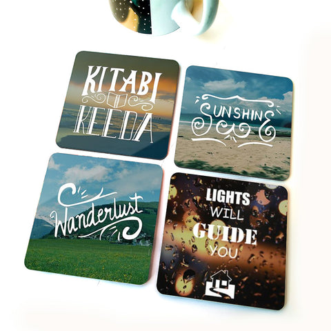 Seeker | Set of Four Coasters