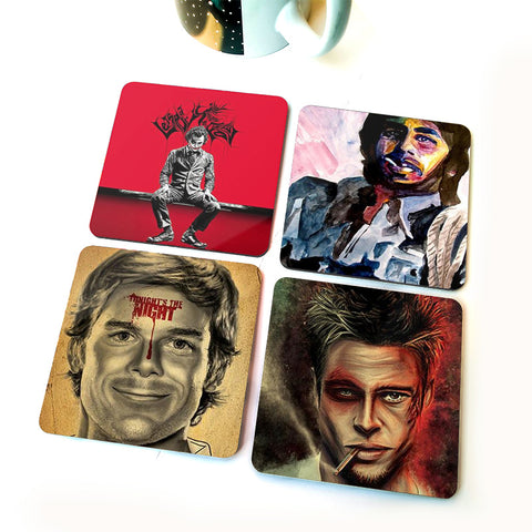 Heroes | Set of Four Coasters