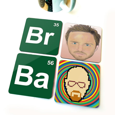 Breaking Bad | Set of Four Coasters