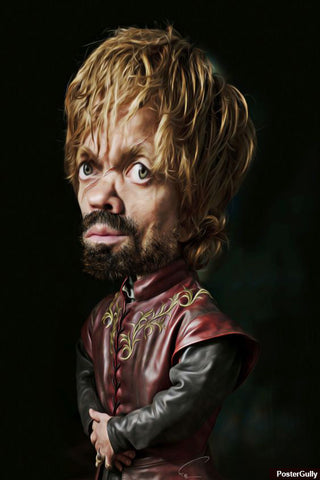 Brand New Designs, Tyrion Caricature Artwork | Artist: Abhishek Faujdar, - PosterGully - 1