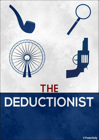 Wall Art, The Deductionist Artwork | Artist: Kumaraditya Dash, - PosterGully - 1