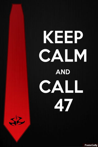 Wall Art, Keep Calm And Call #47 Artwork | Artist: Asish Dinesh, - PosterGully - 1