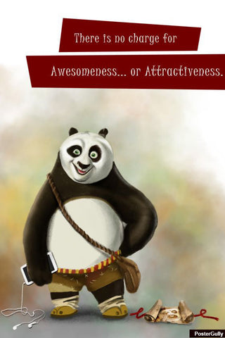 Brand New Designs, Panda Awesome Artwork | Artist: Pratik Doshi, - PosterGully