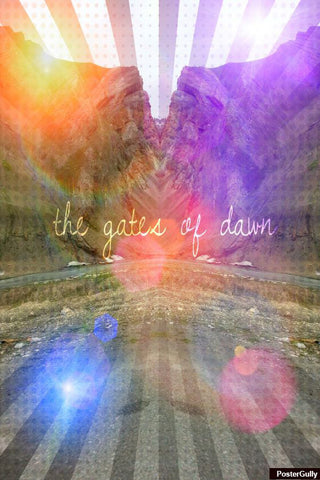 Wall Art, The Gate Of Dawn Artwork | Artist: Pankaj Mullick, - PosterGully - 1