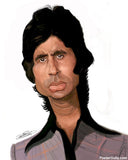 Brand New Designs, Amitabh Bachchan Artwork | Artist: Sri Priyatham, - PosterGully - 1