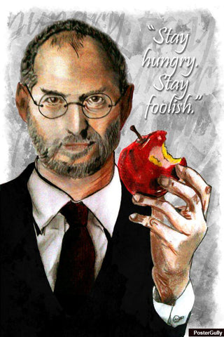 Brand New Designs, Steve Jobs Artwork | Artist: Nishant D'souza, - PosterGully