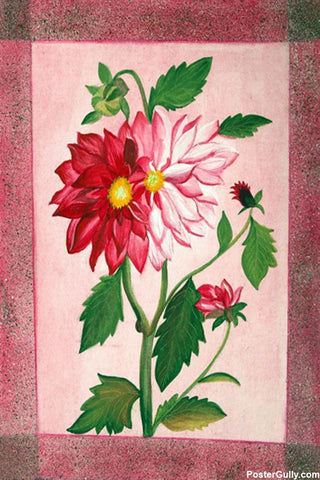 Wall Art, Flower Water Painting Artwork | Artist: Neeraj Mrs Parswal, - PosterGully - 1