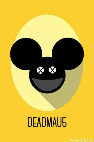 Brand New Designs, Dadmau5 Minimal Artwork | Artist Simran Anand, - PosterGully - 1