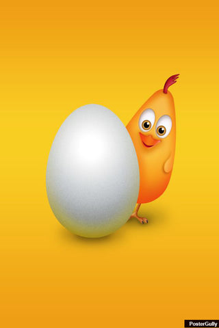 Brand New Designs, Egg And Chicken Artwork | Artist: Amit Kumar, - PosterGully - 1