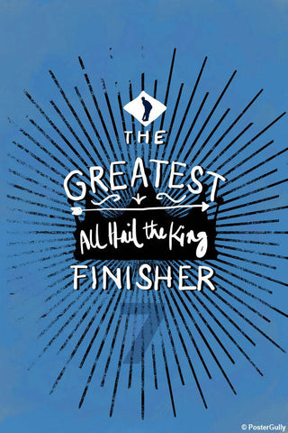 Wall Art, Greatest Finisher Dhoni Cricket, - PosterGully - 1