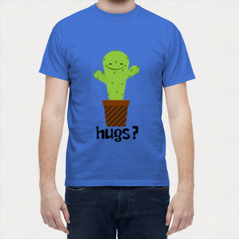 Men T Shirts, Hugs Men T Shirts | Artist : Random Chinese Friend, - PosterGully - 1